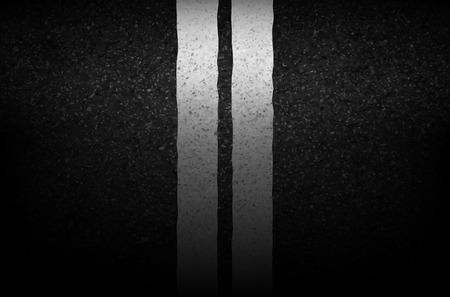 markings: Asphalt texture with road markings background, illustration vector Illustration