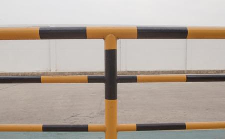 barrier: construction barrier Stock Photo
