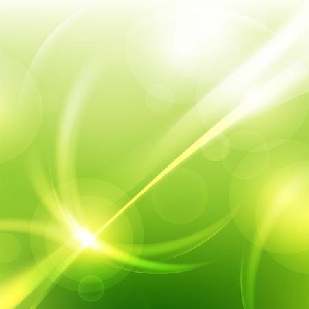 groene natuurlijke abstracte technologie vector achtergronden Stock Illustratie