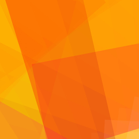 abstract oranje: Abstracte oranje illustratie met rechthoek. vector illustratie Stock Illustratie