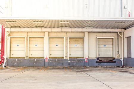 storage: Storage entrances Stock Photo