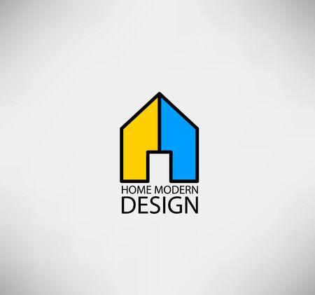 homestead: Home logo for concept modern