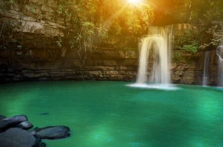 si: Si Dit Waterfall, Phetchabun, Thailand Stock Photo