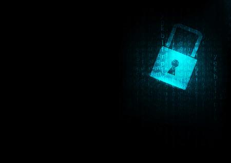 lock  futuristic: Lock abstract blue futuristic english code abstract vector backgrounds Vettoriali