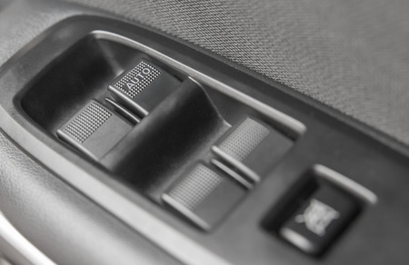 car lock: Background of car lock unlock buttons and window buttons.