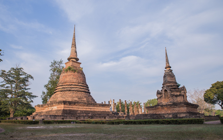 sukhothai: Old temple in Sukhothai