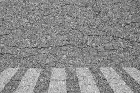 senda peatonal: textura de fondo de asfalto áspera paso de peatones