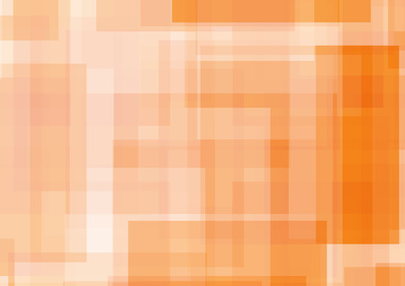 rectangle: Abstract orange illustration with Rectangle. vector illustration Illustration