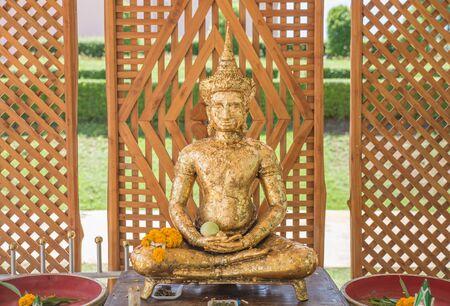gild: The Big Buddha for gild (phraphuthth- mha-thrrm-racha) at phetchabun province,Thailand.