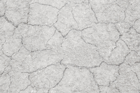 dried up: Texture of land dried up by drought, the ground cracks background with vintage tone Stock Photo