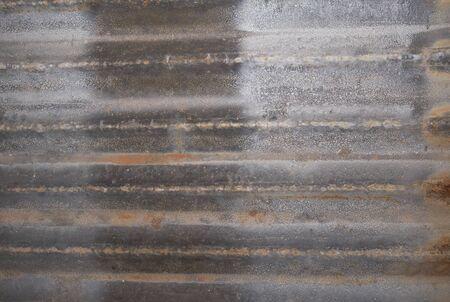 Zink textuur achtergrond. Stockfoto