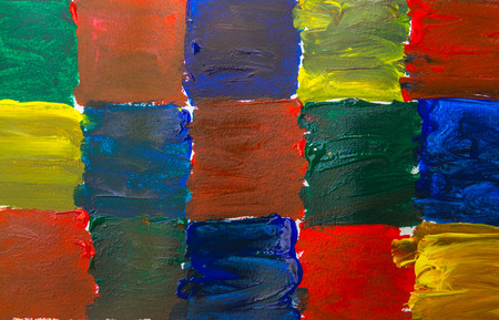 rainbow: watercolor background