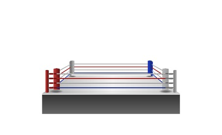 boxing ring arena vector design. Vector illumination
