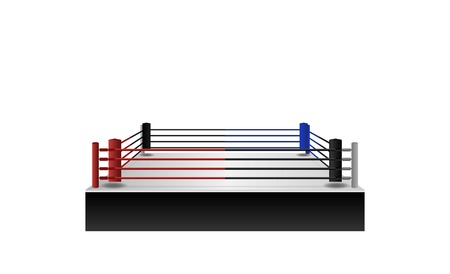 boxing ring arena vector design.