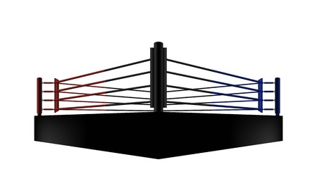 disegno vettoriale di boxe ring arena. Illuminazione vettoriale