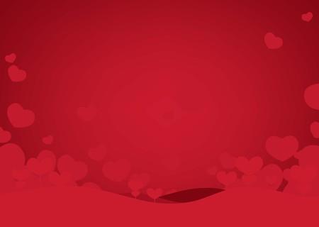 Joyeuses Saint-Valentin de fond. illustration vectorielle Vecteurs