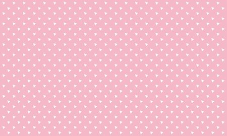 Repeat Triangle template and pattern Pink background banner poster Creative vector design