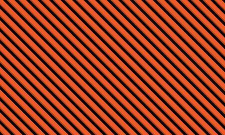 Repeat horizontal line halloween template and pattern orange background Creative vector design Иллюстрация