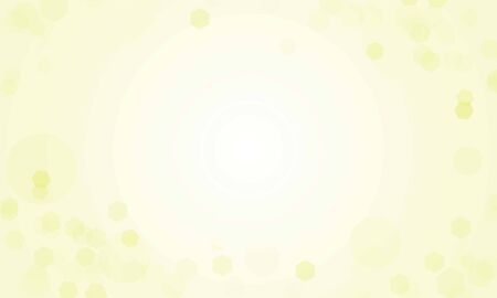 Abstract bokeh Light gold color with soft light background for wedding vector design. Иллюстрация