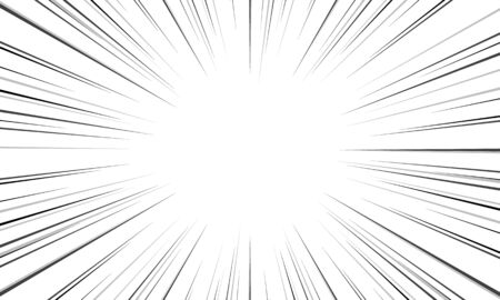 Black and White Sun Rays pattern background Creative vector design