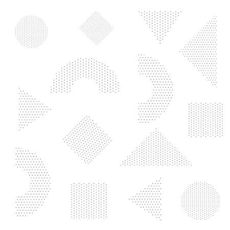 Abstract Black and white background Fluid shapes composition and geometry trendy gradient shapes composition vector design Ilustração