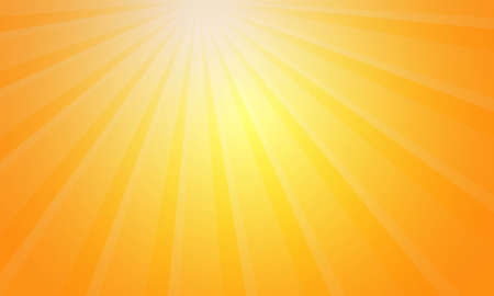 Gradient background simple light ray Orange vector design.