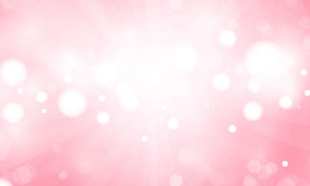 Abstract pink colorful bokeh light background for wedding vector magic holiday poster design.
