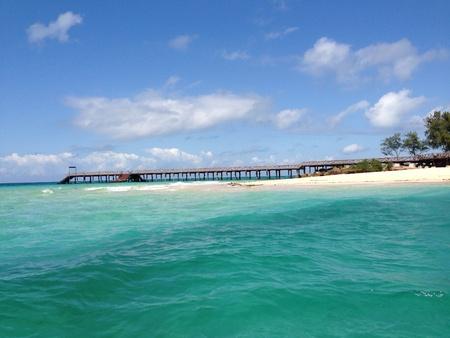 turqoise: Zanzibar Tanzania Stock Photo