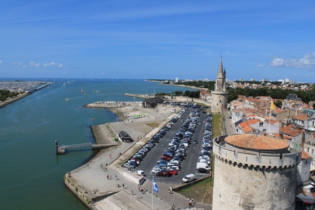 atlantic ocean: Old harbor of La Rochelle, the French city and seaport Located on the Bay of Biscay, a share of the Atlantic Ocean