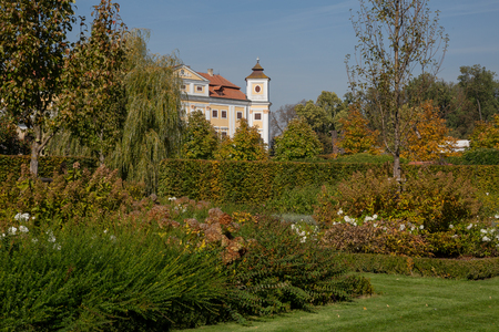 State Milotice Castle, pearl of South Moravia, is a uniquely preserved complex of baroque buildings and garden architecture