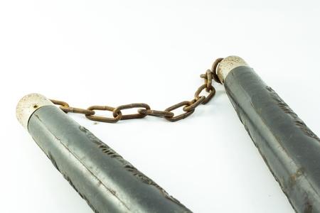 nunchaks: Nunchaku, weapon of oriental combat sports