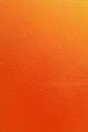 wall orange backdrop in bangkok thailand photo