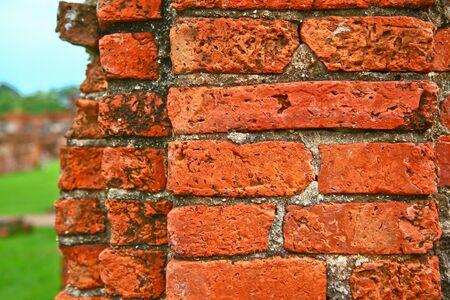 ayuthaya: Old brick thailand
