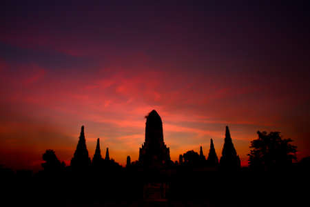 Temple old thailand photo