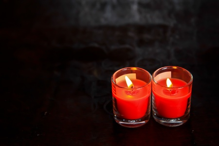 Candle red in bangkok thailand Stock Photo - 10822699
