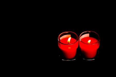 Candle red in bangkok thailand Stock Photo - 10822657
