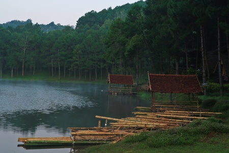 woodcraft: Reservior at the north of Thailand