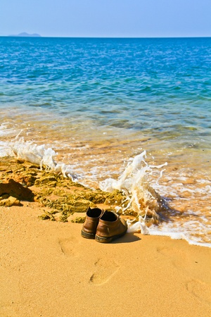Shoes at Pattaya photo