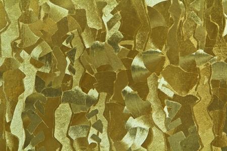 Golden foil photo