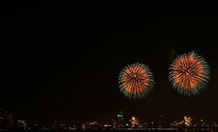 International Firework at Pattaya in Thailand Stock Photo - 12543796