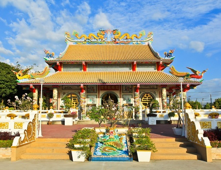 chinese temple: Chinese temple in Thailand