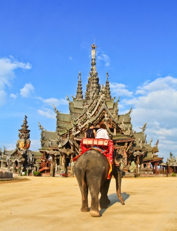 truth: Sanctuary of Truth at Pattaya in Thailand