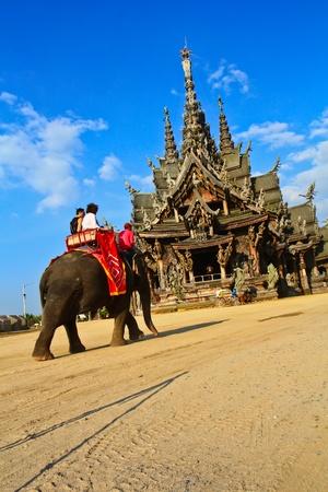 pattaya: Sanctuary of Truth at Pattaya in Thailand