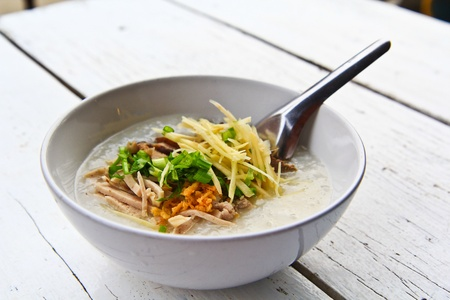 Rice porridge Stock Photo - 12587084