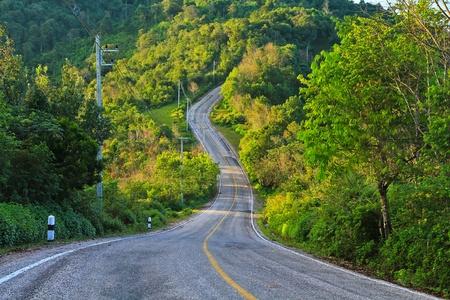 cornering: Long road