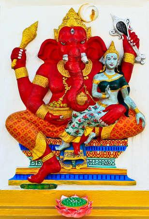 parvati: Ganesha at Chachoengsao in Thailand