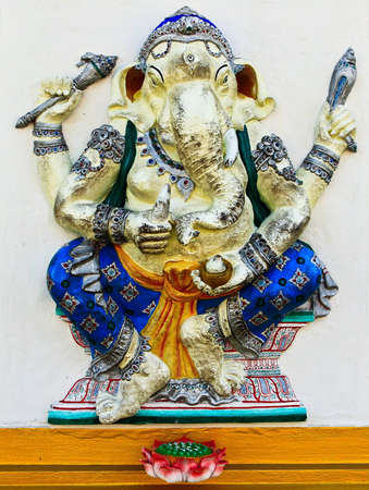 Ganesha at Chachoengsao in Thailand photo