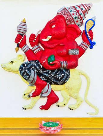Ganesha at Chachoengsao in Thailand Stock Photo - 12587722