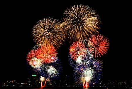 pattaya: International Firework at Pattaya in Thailand