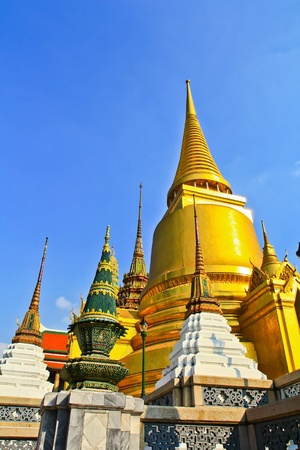 Wat Phra Kaew in Thailand photo